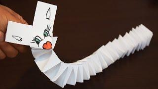 ЧУПИК - Игрушка из Бумаги / Поделки Оригами