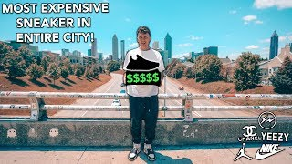 Buying The MOST EXPENSIVE Sneaker In My Entire City...