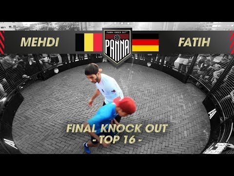Mehdi Amri (BE) VS Fatih Hatipoglu (DU) | 1/8 FINAL, Panna Knock Out World Championships 2019