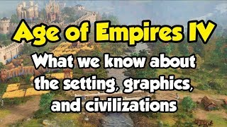 Age of Empires 4 - my thoughts on the setting, graphics, and civilizations