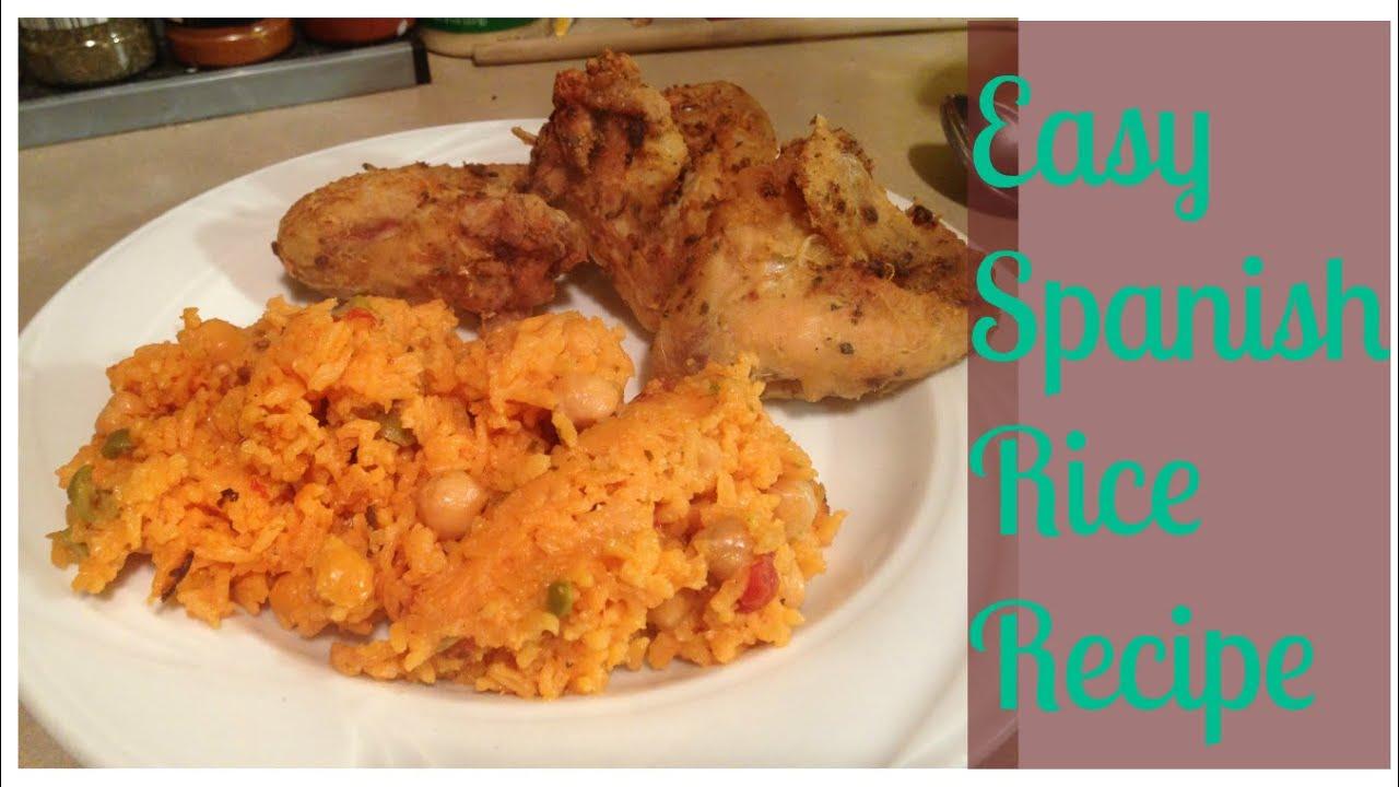 My easy spanish rice recipe youtube my easy spanish rice recipe forumfinder Gallery
