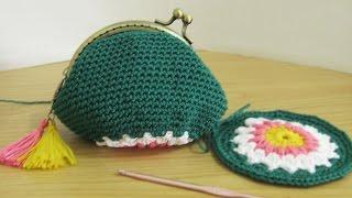 Video Crochet    Tutorial Dompet Koin Dengan Behel + Inner - Coin Purse With Frame download MP3, 3GP, MP4, WEBM, AVI, FLV Juli 2018