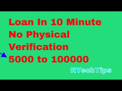Cashe-How To Get Loan Without Any Document Or Physical Verification in 5 min . Fast Cash