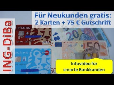 ING DiBa ⇒ Bargeld und Karten ⇐ Alles Wichtige in einem Video