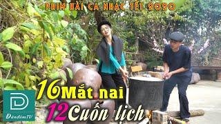 HÀI TẾT 2020   16 Mắt Nai 12 Cuốn Lịch   Hài Ca Nhạc Cực Hay Của Đàn Đúm TV   Linh Bún   Quang Líp