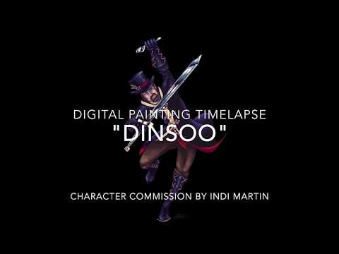"""""""Dinsoo""""   Digital Character Commission"""