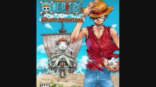 One Piece Grand Adventure - Mode Select