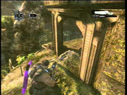 Gears Of War 3: Jugando unas partidillas con un amigo :D