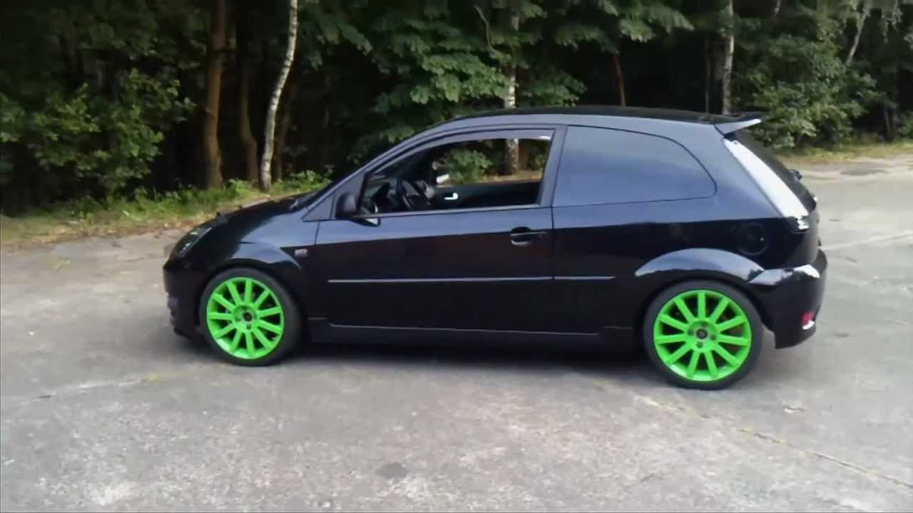 ford fiesta st cup sound youtube