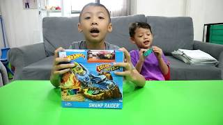 Unboxing Hot Wheels Swamp Raider Color Shifters