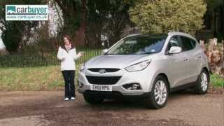 Hyundai ix35 SUV 2010 2013 review CarBuyer смотреть