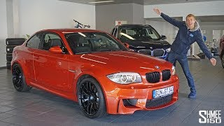 Collecting His New BMW 1M Coupe!