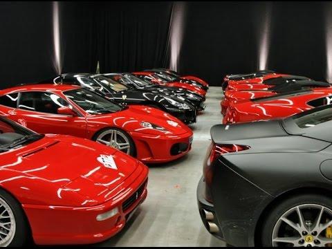 Sultan of Brunei's Garage