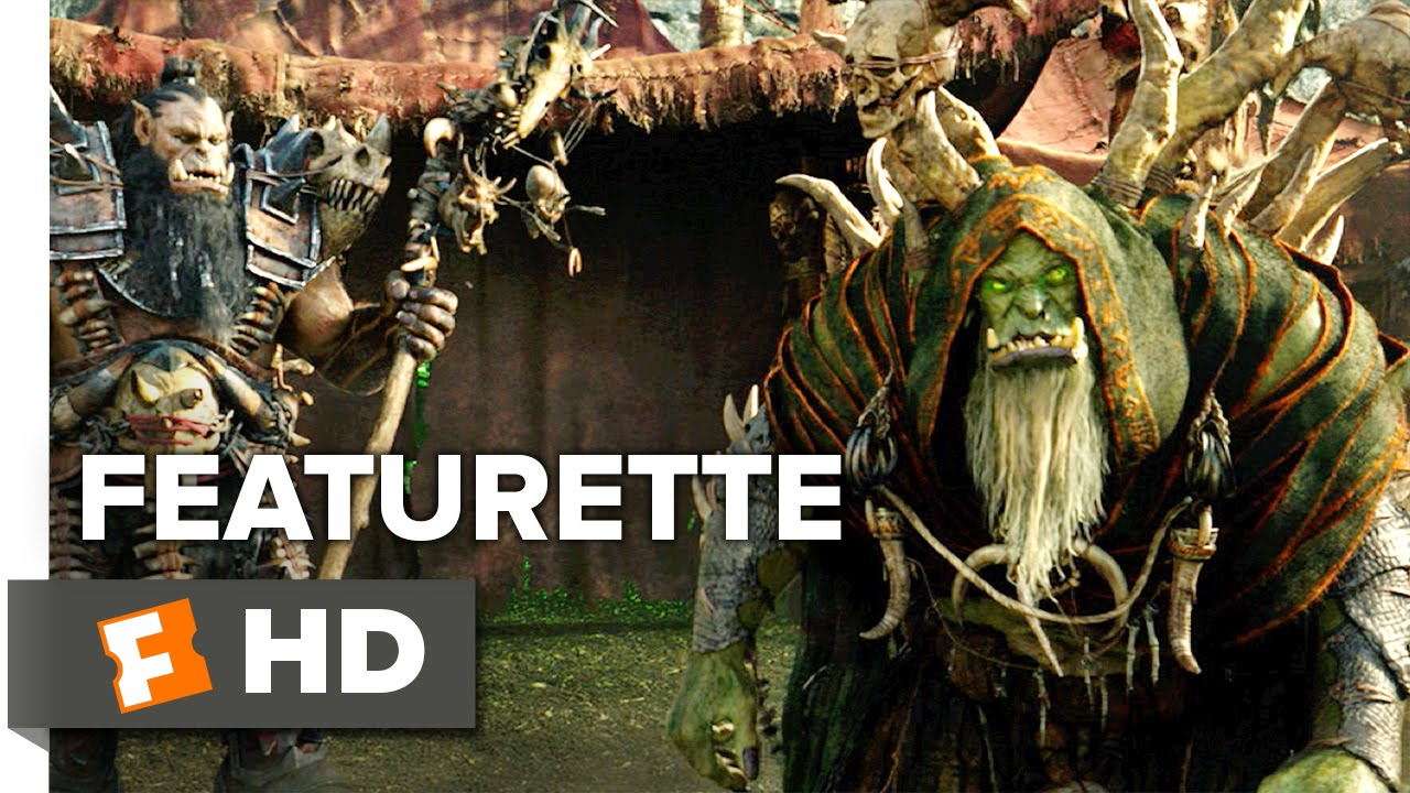 Warcraft Featurette Orc Camp 2016 Toby Kebbell Robert Kazinsky Movie Hd Youtube