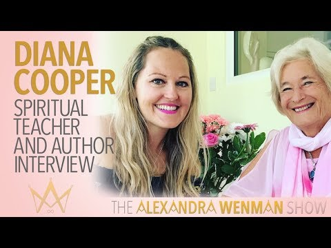 Diana Cooper spiritual teacher and author interview
