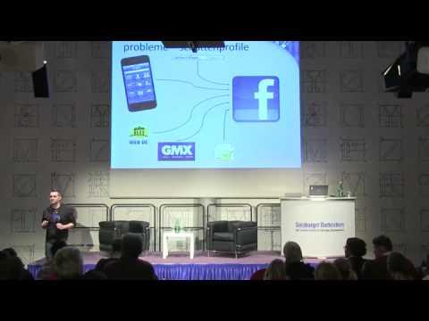 Vortrag von europe-v-facebook.org im SN-Saal