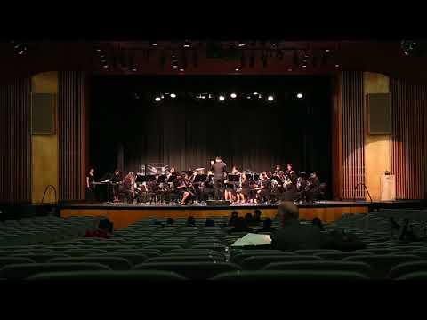 Santiago High School Concert Band - Foundry - 3/16/18 GGHS SCSBOA Festival