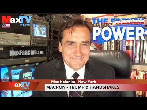 Macron shakes up Trump – Francja silna jak Makaron