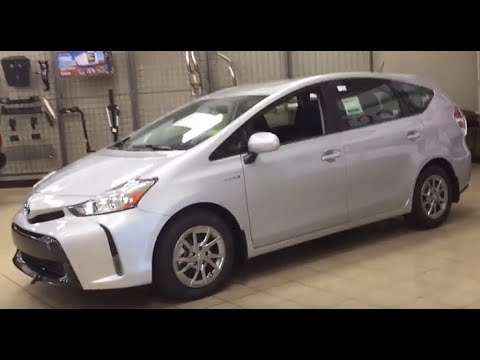 2016 Toyota Prius V Luxury Package Review