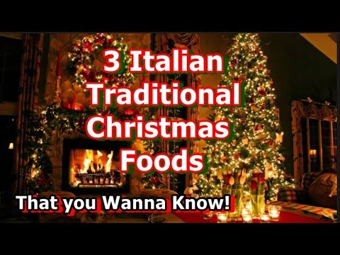 Italian Christmas Traditional Foods