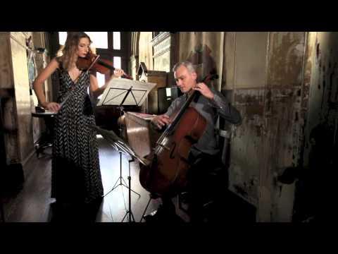 Arioso - Bach - Stringspace - Violin & Cello Duo