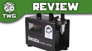 Airbrush Review: Iwata Smart Jet Pro Compressor Unboxing