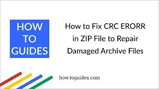 How to fix 7 Zip checksum error, 7 Zip Errors Videos