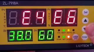 Огляд та інструкція з налаштування контролера для інкубатора Lilytech 7918A. Відмінна заміна XM-18