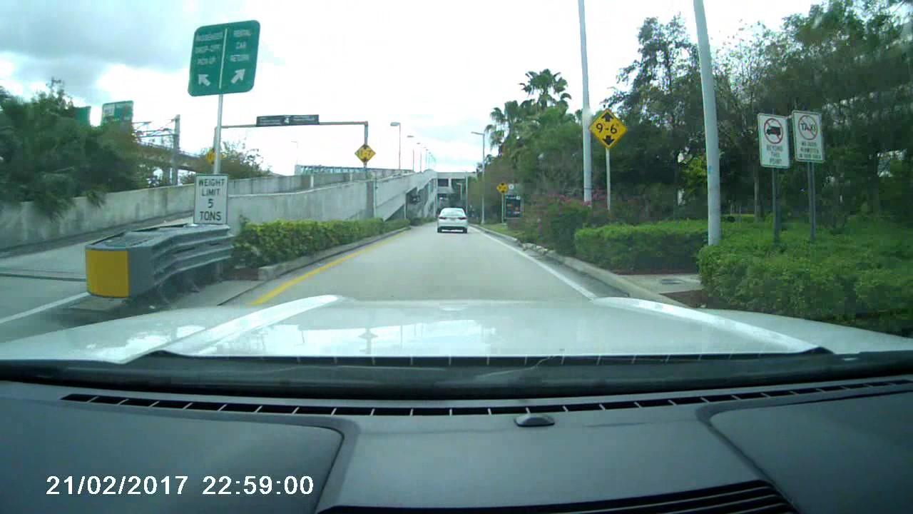 kopio videosta alamo car rental return miami airport