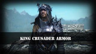 TES 5: Skyrim   Броня Король Крестоносцев