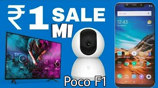 Xiaomi Poco F1 for only 1Rs by playing games .Flash sale Technical Swayam