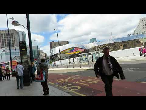 How To Walk From Birmingham Moor Street Station To Birmingham New Street Station