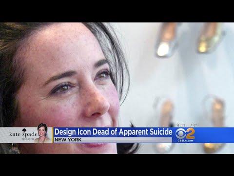 Design Icon Dead Of Apparent Suicide