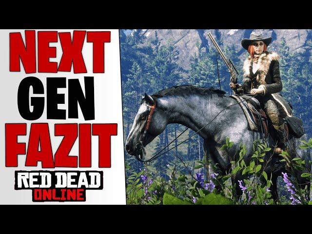 MEIN FAZIT - Xbox Series X | Ps5 Version & Neuer Charakter | Red Dead Redemption 2 Online deutsch