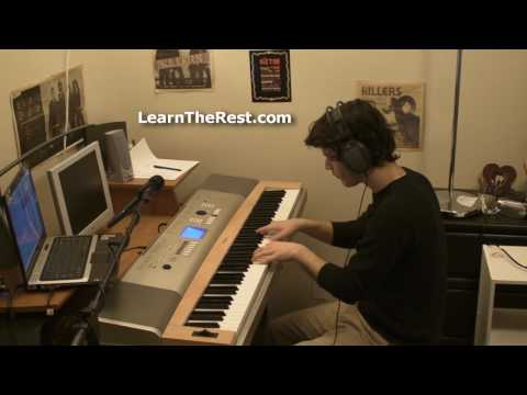 Human - The Killers Piano (Soprano!) Cover [Ryan Jones]