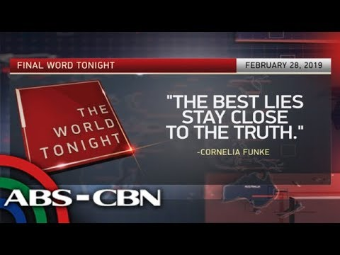 The World Tonight: The Final Word | February 28, 2019