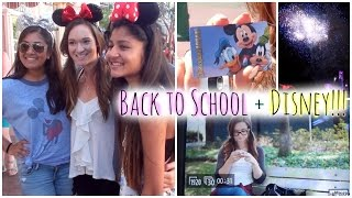 DISNEY MAGIC + MORE BACK TO SCHOOL FILMING!!!! Thumbnail