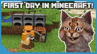 Video My First Day In Minecraft download MP3, 3GP, MP4, WEBM, AVI, FLV Agustus 2019