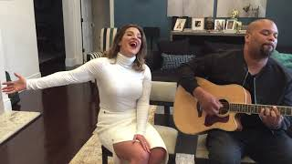 Shoshana Bean's 'Make It Rain' LIVE! (Perez Hilton Performance)