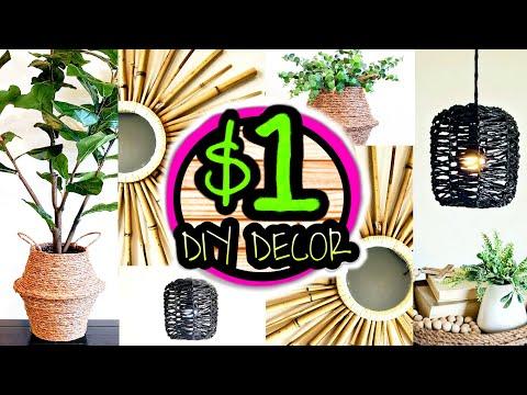 Dollar Tree Room Decor DIYs That DO NOT Look Like Dollar Tree DIYs!!!
