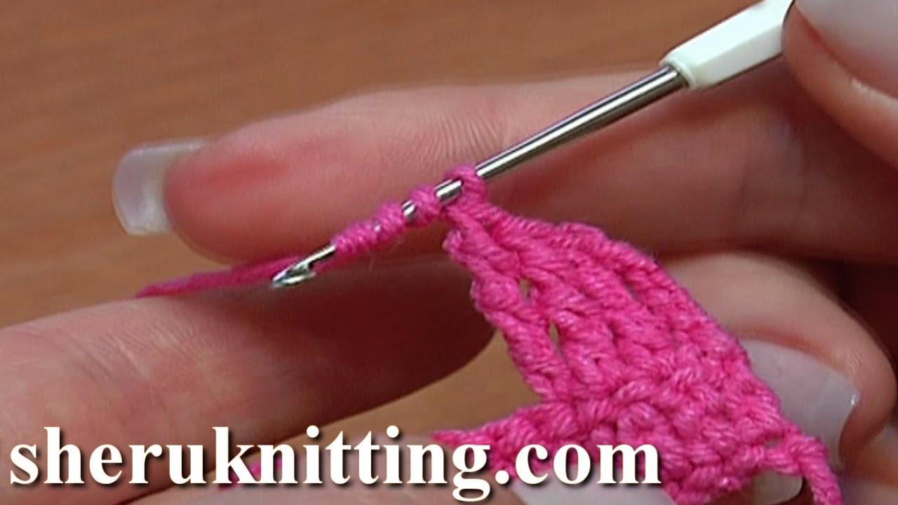 Double Treble or Double Triple Crochet Tutorial 8 Crochet ...