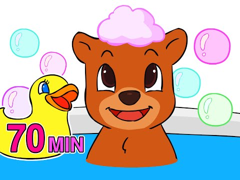 Baby Bath Time Songs | Take a Bath, Wash My Hands, Potty Song & More Nursery Rhymes by BusyBeavers
