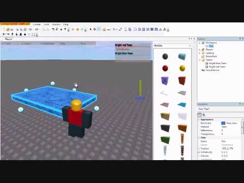 Tutorial How To Make Water In Roblox Youtube