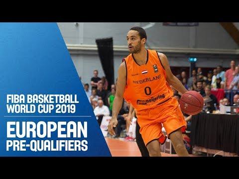 Albania v Netherlands - Full Game - FIBA Basketball World Cup 2019 - European Pre-Qualifiers