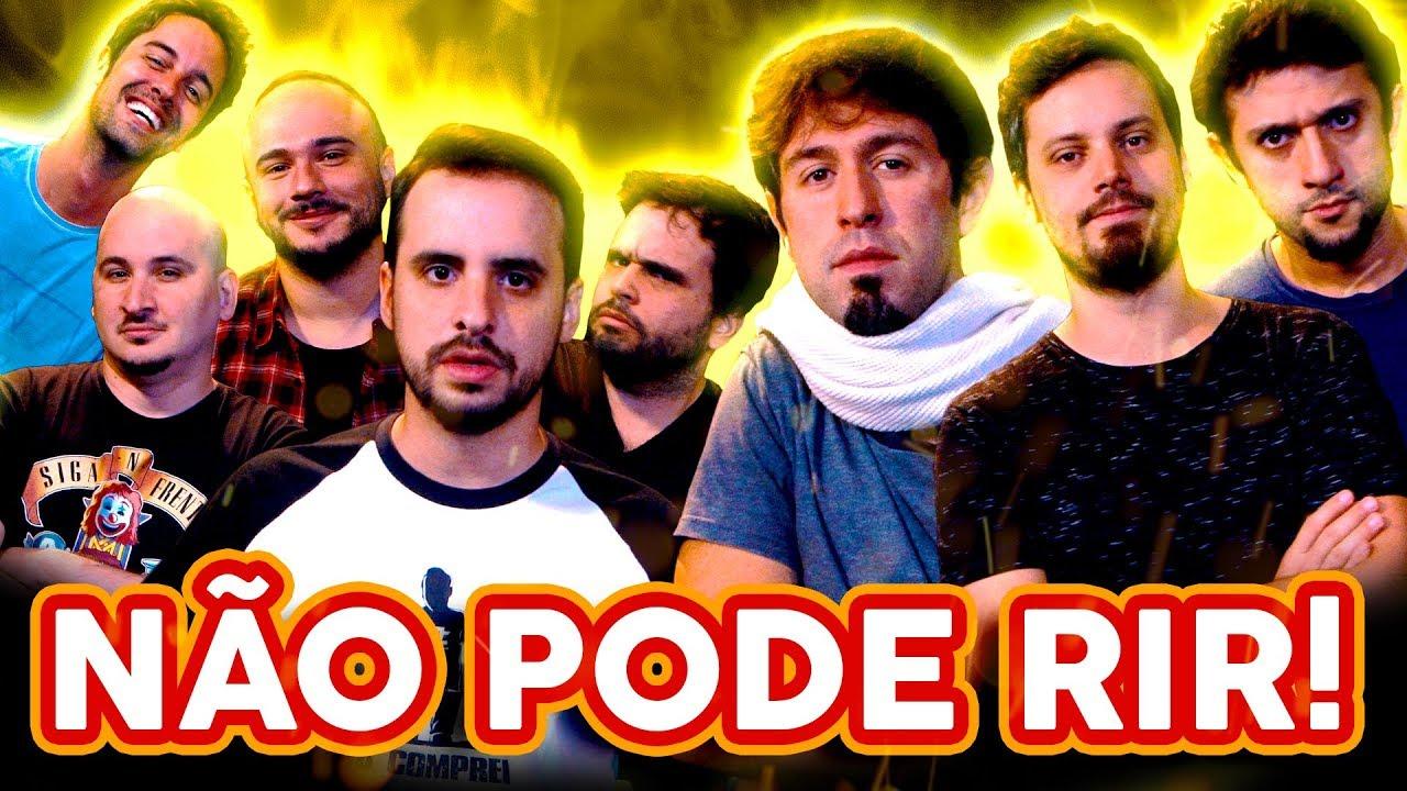 NÃO PODE RIR! com BARBIXAS - a TRILOGIA! Anderson Bizzocchi, Daniel Nascimento e Elidio Sanna