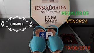 REGALOS DE MI HIJA DE MENORCA ,,,,,,,,,,19/08/2018 _Conchi Diez 😗💖🛍🎁
