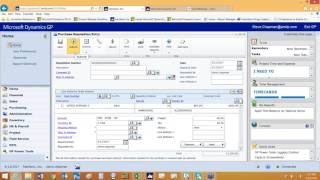 Dynamics GP Tips Tricks Ease of Use Web Client 022416