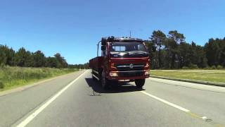 Dongfeng DF-1516 Test Drive