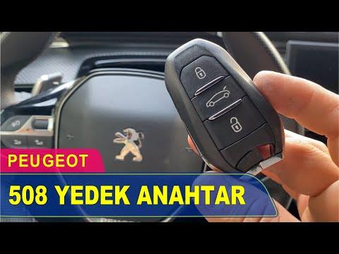 Peugeot 508 Anahtar Yapımı | Yedek Kopyalama - Oto Anahtarcı İstanbul