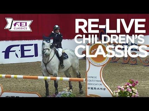 RE-LIVE | Final - 2nd Qualifying | FEI Children's International Classics | Beijing